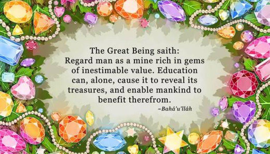 Regard Mine Rich in Gems