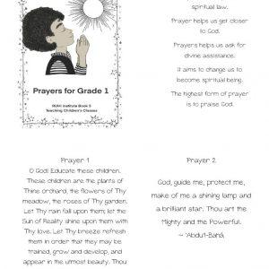 Cover of Ruhi Book 3 Grade 1 prayerbook