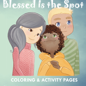 Blessed is the Spot Coloring Book