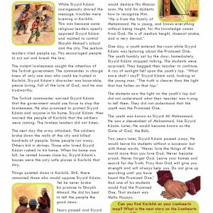 Issue 02 - The Trials of Siyyid Kázim