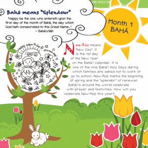 Month 01 - Bahá