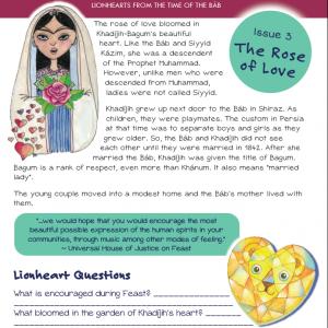 Issue 03 - The Rose of Love - Khadájih-Bagum