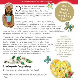 Issue 04 - Mullá Husayn Meets the Báb