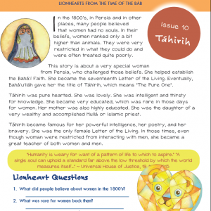 Issue 10 - Tahirih