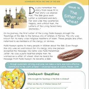 Issue 14 - The Sifter of Wheat