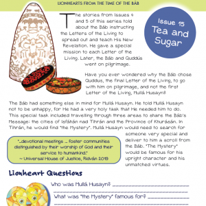 Issue 15 - Tea and Sugar