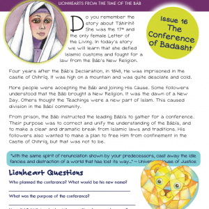 Issue 16 - The Conference of Badasht